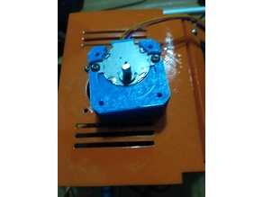 28BYJ-48 stepper motor to NEMA 17 adapter