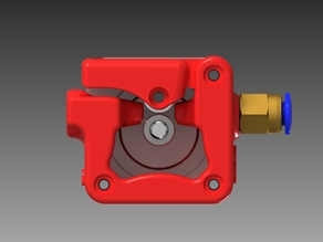 3mm Infill 3D Bowden Direct Drive Extruder v2