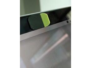 Small webcam cover