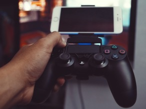 iPhone 6/s & 6/s Plus Grip with Dualshock 4