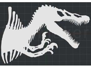 Dinosaur 2D Wall Art