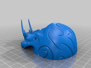 Tribal Sabre Tooth Skull - Split for easier printing