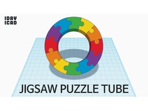 [1DAY_1CAD] JIGSAW PUZZLE TUBE