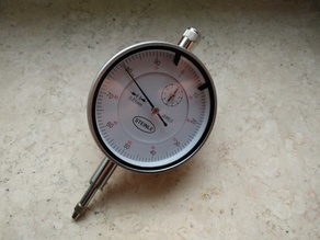 Steinle Dial Indicator - Mounting back