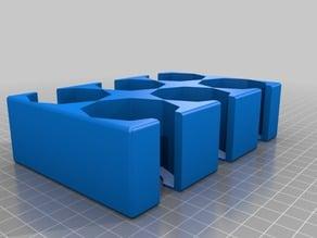 Octagon Tile Storage Game Box Insert 3x2