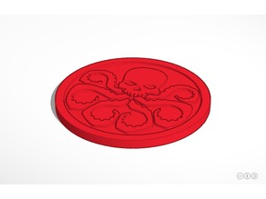 Hydra Drinking Coaster