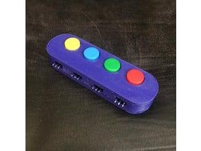 4 Button Module Case