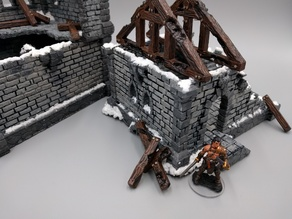 Ulvheim Building - Trusses and Ruins