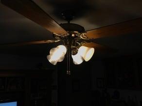 Hunter fan lamp shade