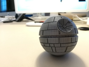 Death Star Mid Section for http://www.thingiverse.com/thing:245922