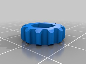cr-10 filament feed hex nut finger tool
