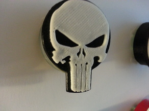 Punisher badge leash cover