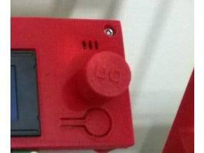 BQ Hephestos panel knob