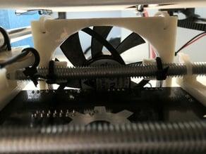 Printrbot Printrboard cooling fan bar mount