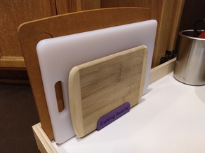 Cutting Board Storage Rack
