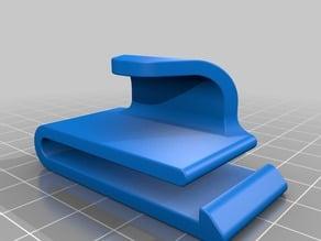 """Sling clip belt mount, Slide on clip 1-1/2"""" & 2"""" Belts"""