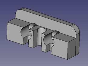 Easy Fit Extended Nozzle Mount for Ormerod 3D Printer