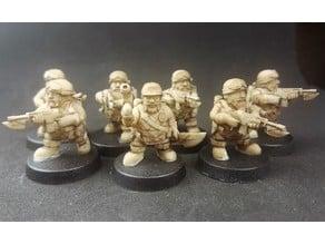 Space Dwarf Rangers