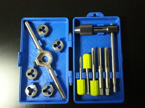 Case for Metric Tap & Die Set (Irwin/Hanson 12 pc)