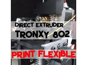 Tronxy p802e Direct Extruder X-Carriage