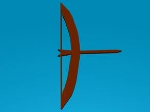 Bow and arrow model