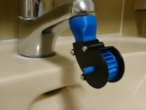 Mini water tap turbine
