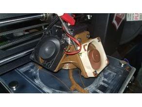 Wanhao i3 Mini dual fan mount