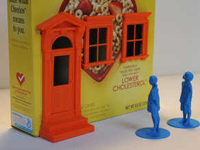 Cereal Box Townhouse