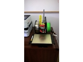 'Printrbot Metal Simple' Back Mounted Dual Spool Holder