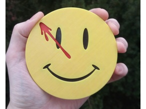 Watchmen Comedian Coaster (Cup Plate)