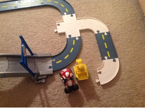 PAW PATROL TRACK SECTIONS - REMIXED