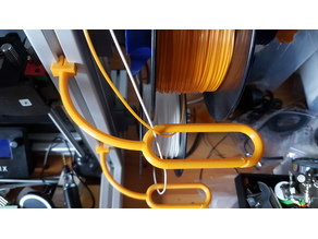 Filament Guide for 40 x 40 or 40 x 80 ALU Profiles