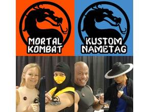 Mortal Kombat Kustom Nametag