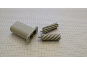 FAILED: Positive displacement screw pump
