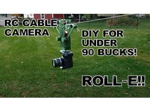 RC Cable Camera - ROLL-E