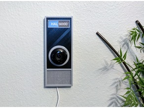 Hal 9000 case for Yi Home/HD Camera (possibly Nest Cameras)