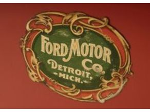 1903 Ford Badge (revisited: raised text)