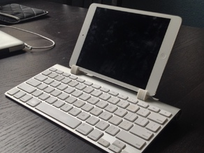 Remixed Ipad Mini + Apple Wireless Keyboard Holder