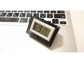 Holder for 1USD cheapest Desktop and Window Digital Humidity Thermometer