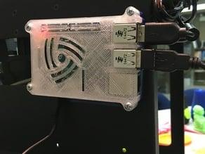 Raspberry Pi 2/B+ case for Lulzbot Mini