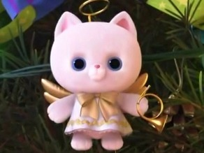 Angel Kitty Ornament