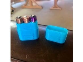 AA & AAA Battery Storage Case
