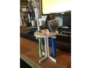 Flat Pack Toothbrush Holder
