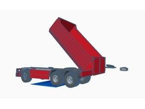 FIXED tailgate for dumper truck