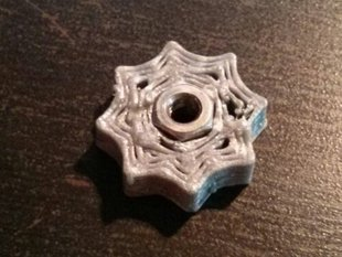 Nut Rosette for RepRap bed levelling