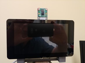 Pi Photo Booth Mount  Extended Camera Mount