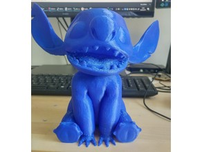 Stitch piggy bank