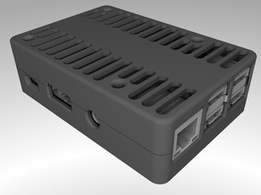 Simple Raspberry PI 3 Case for AIO Computer