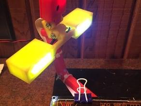 LED Light Bar for Raspberry Pi Camera Mount on Prusa i3