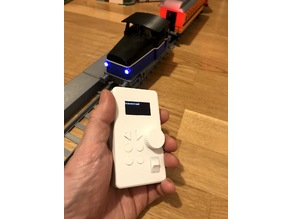 Remote Control for OS-Railway - fully 3D-printable railway system!